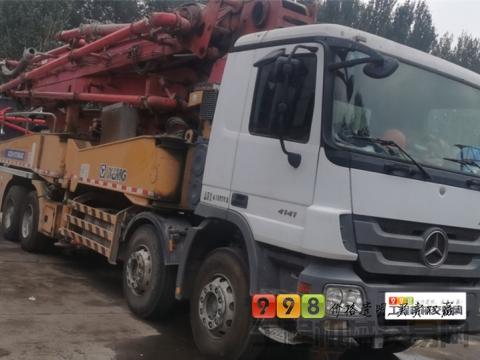 出售2013年徐工奔驰48米泵车