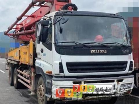 终端精品出售11年出厂三一五十铃37米泵车