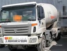 转让2014年12月福田欧曼大18方搅拌车