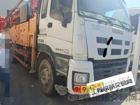 出售2015年三一五十铃47米泵车