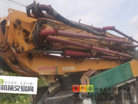 精品出售16年徐工奔驰56米泵车(价高)