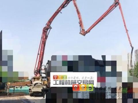 转让12年徐工五十铃41米泵车(价高)