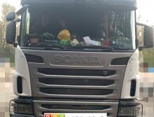 极品出售14年8月中联斯堪尼亚60米泵车