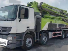 2018年出厂中联奔驰52米泵车(出口神器)