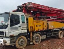 2011年出厂三一五十铃48米泵车