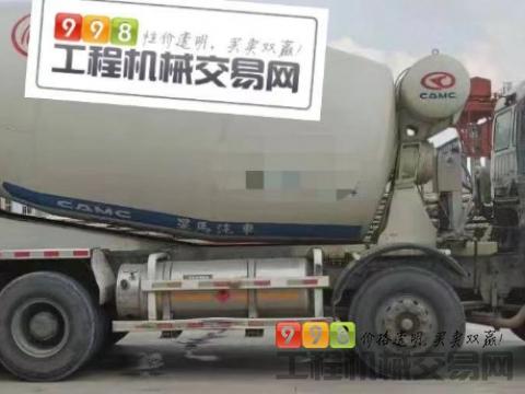 出售14年华菱星马16方搅拌车(国五天然气5台)