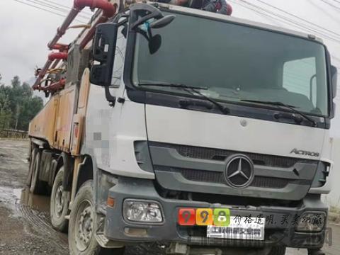 车主精品转让17年出厂徐工奔驰56米泵车(国四)