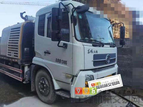 精品出售18年三一东风10020车载泵(6万方)