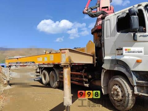 裸车出售2011年三一日野底盘37米泵车