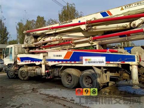 出售08年12月中联五十铃46米泵车(价高)