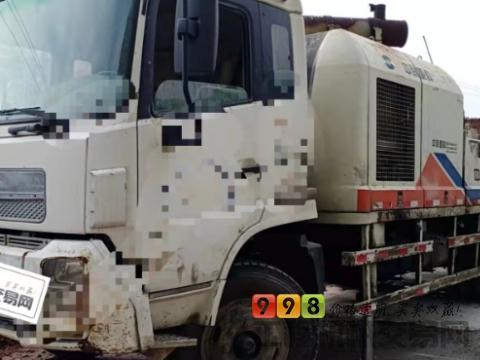 出售11年6月中联10018柴油车载泵