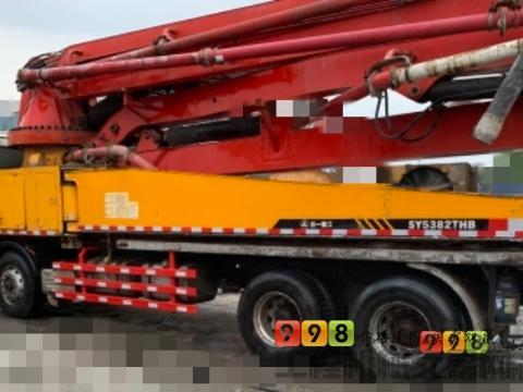 精品出售09年三一五十铃46米泵车