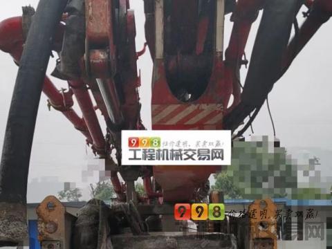 终端出售13年11月三一奔驰三桥46米(三桥大排量.经典黑转塔)
