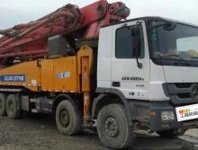 精品出售14年徐工奔驰52米泵车