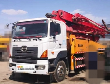 精品出售09年三一日野40米泵车(西北车)
