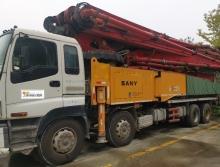 车主出售13年极品三一五十铃56米泵车