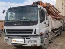 精品出售12年中联五十铃52米泵车