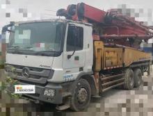精品出售11年三一奔驰40米泵车