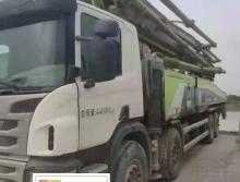 出售17年出厂中联斯堪尼亚56米泵车(国五)