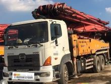 精品出售12年8月三一日野46米泵车