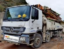 终端出售2016年上牌中联奔驰52米泵车