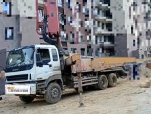 出售2012年三一五十铃底盘46米泵车