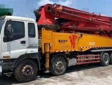 出售13年三一五十铃底盘56米泵车